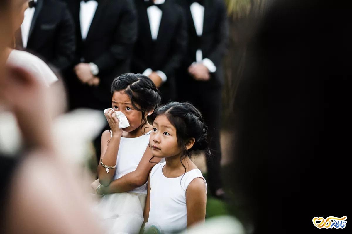 عکاسی از کودکان در مراسم عروسی