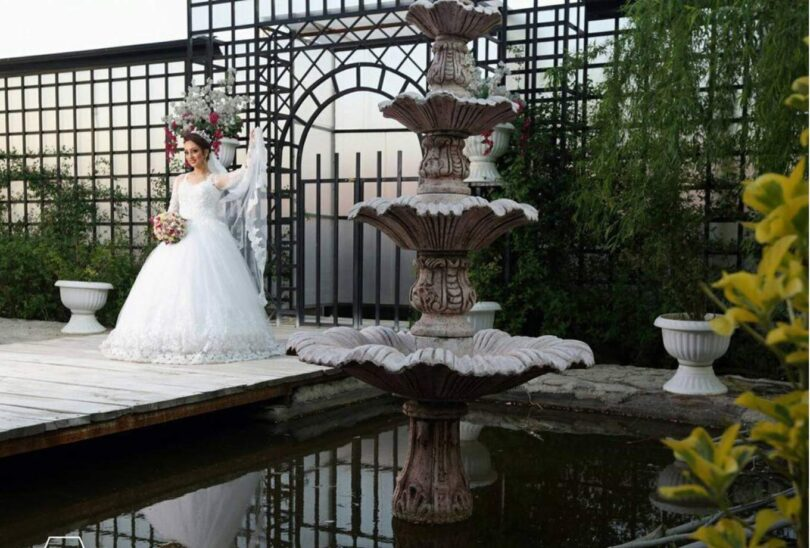 عکاسی عروس تهران باغ عمارت
