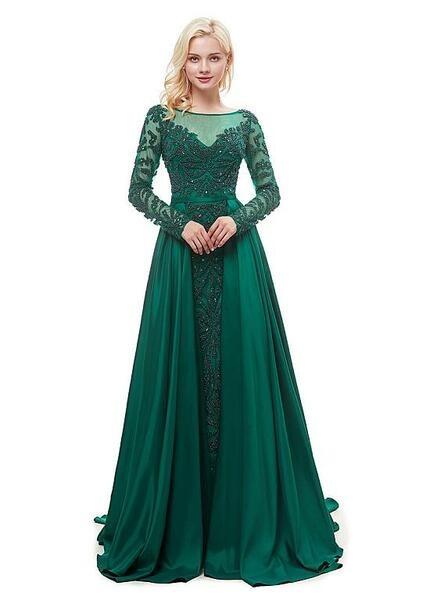 لباس مجلسی آستین گیپور