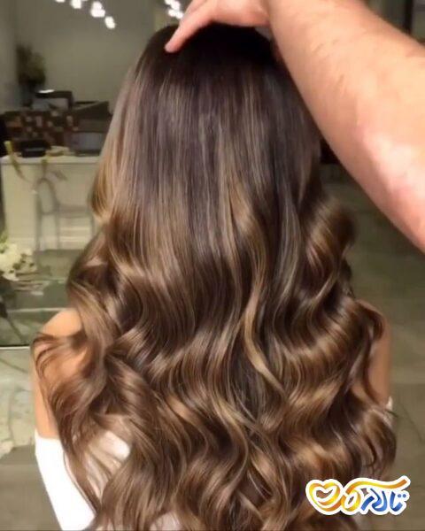 موی زیبا عروسی
