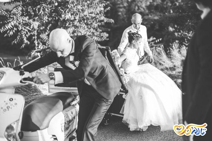 آداب و رسوم عروسی در فرانسه : ماشین عروس