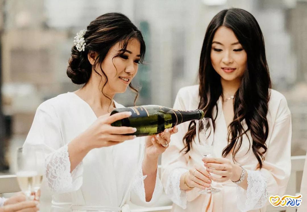 مدل آرایش ساقدوش عروس