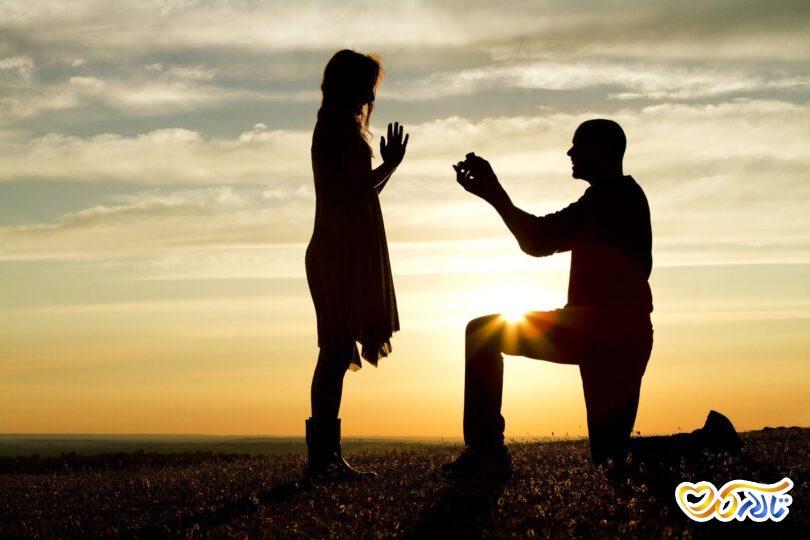 جذب مرد در مراسم خواستگاری