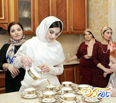 جذب خواستگاری چای عروس