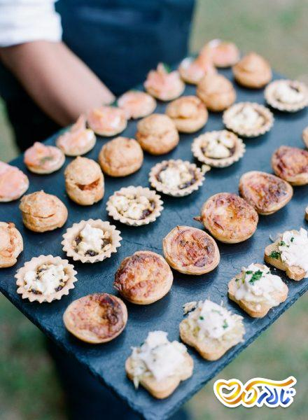 آداب و رسوم عروسی در فرانسه : وعده غذایی