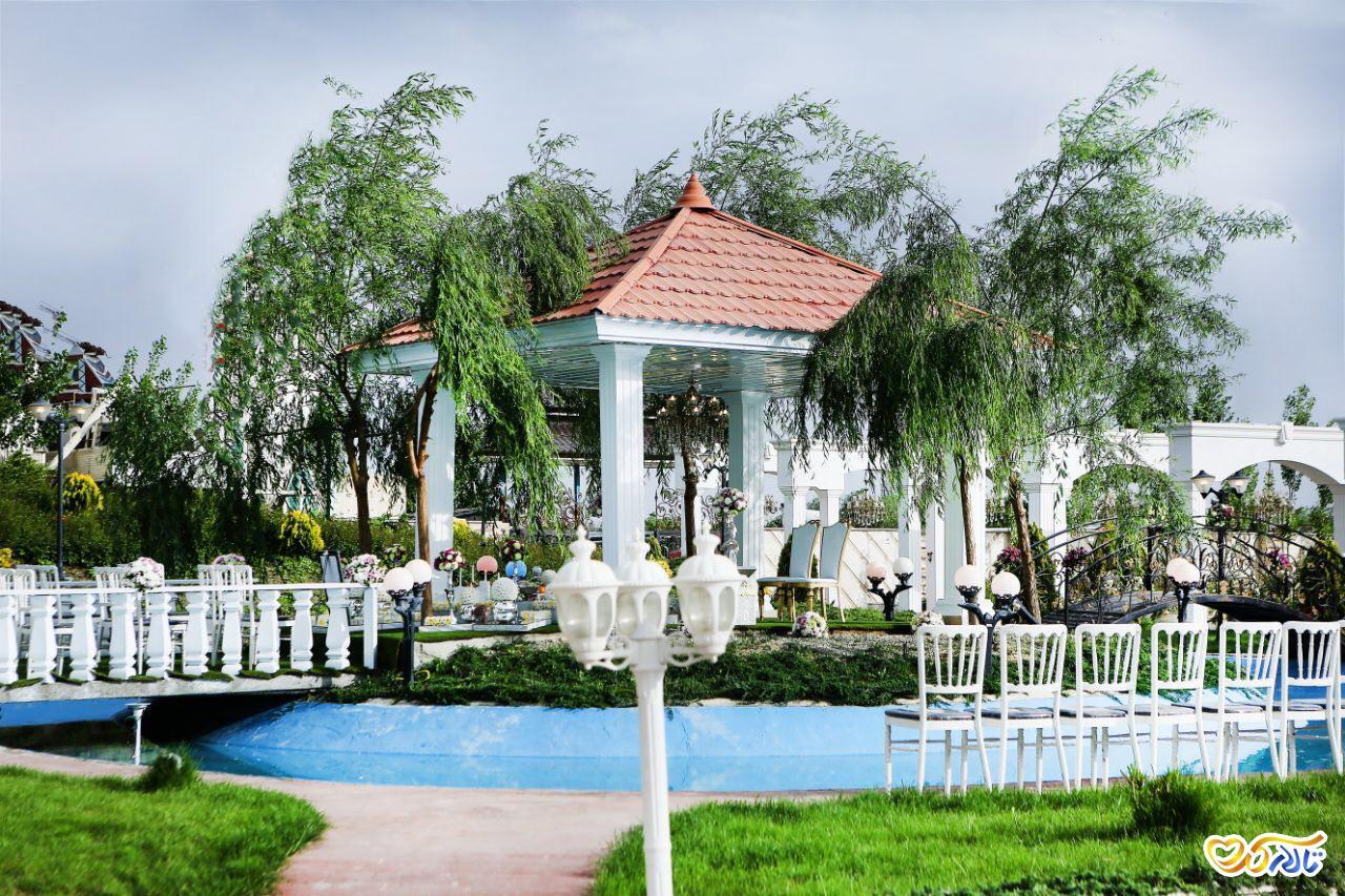 باغ تالار نیکان احمدآباد مستوفی