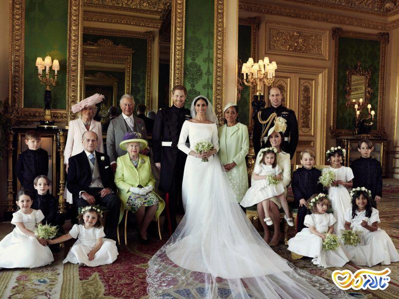 ورود عروس داماد به تالار عروسی باغ تالار