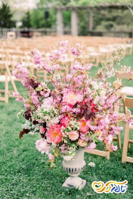 شکوفه گیلاس برای تزئین عروسی