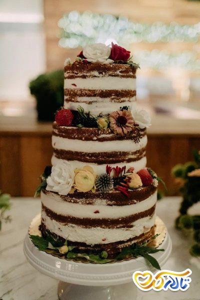 ۳۲ کیک عروسی تابستانه