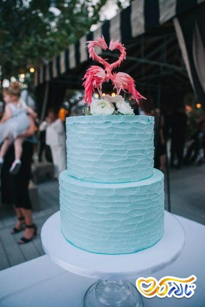 کیک عروسی تابستانه