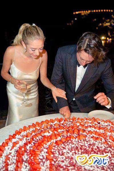 ۳۲ کیک عروسی