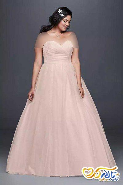 لباس عروس صورتی