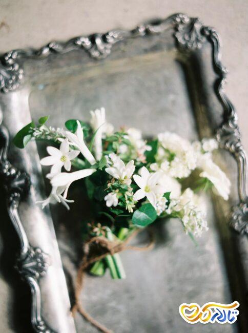 گل یاسمن در تزئینات عروسی