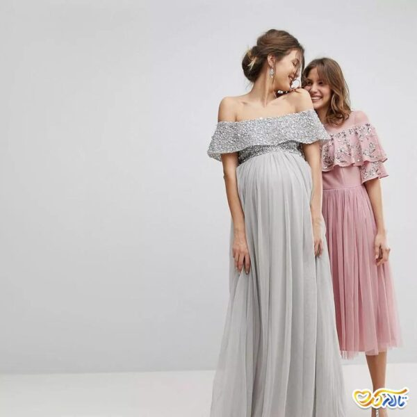 لباس مجلسی بارداری, لباس حاملگی عروسی