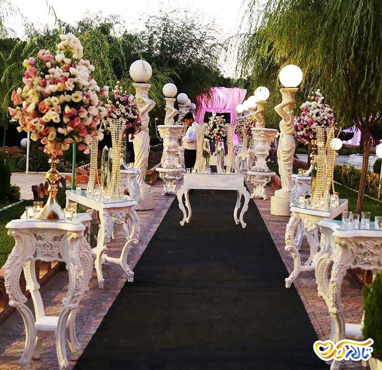 باغ تالار سیب احمدآباد, باغ عروسی سیب احمدآباد مستوفی