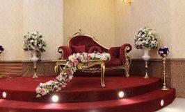 جایگاه تالار عروسی قصر اریو