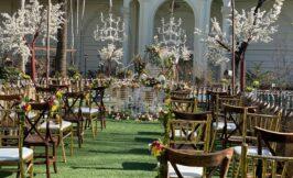 عقد مهمانان عروسی باغ تالار ریور ساید