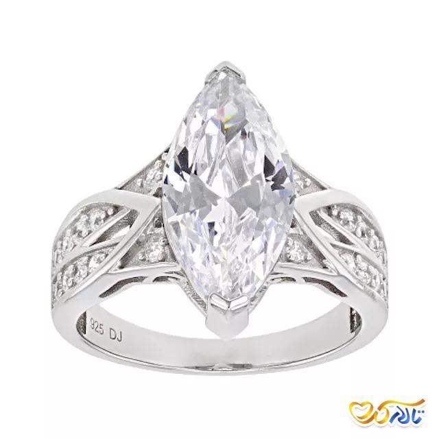حلقه جواهر زیبا