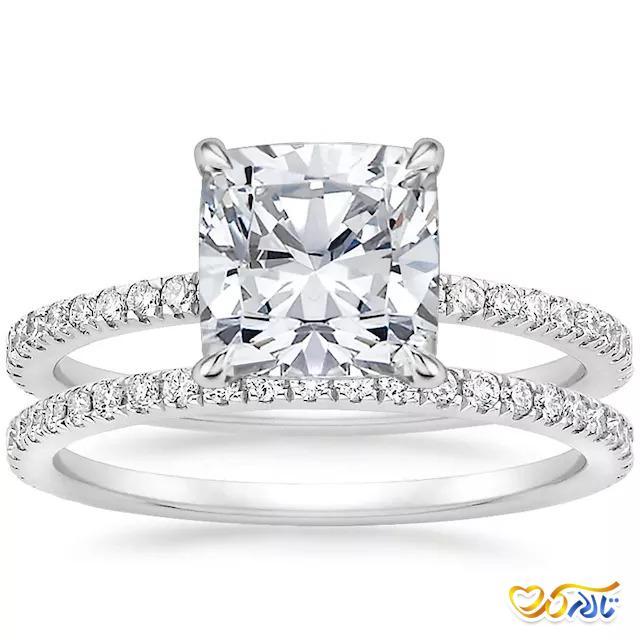 حلقه عروسی پلاتین