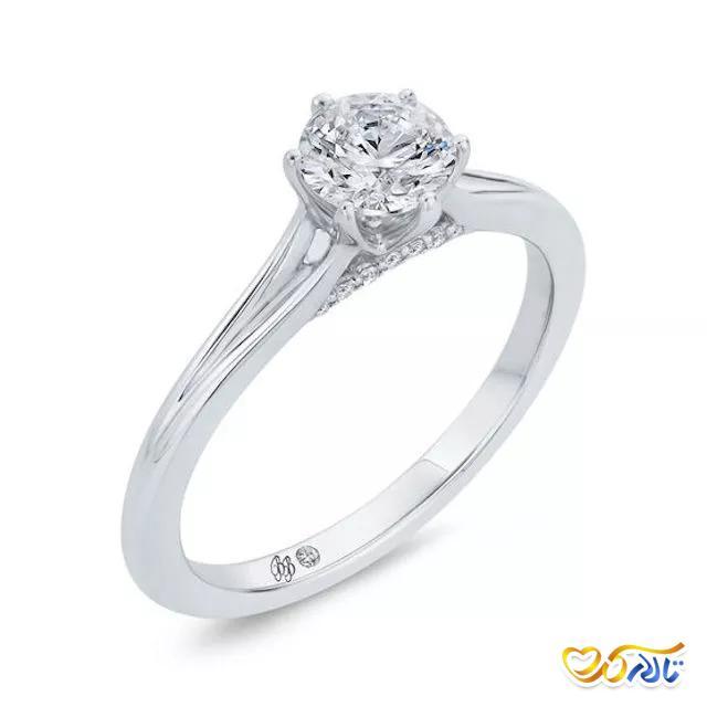 حلقه عروسی ساده و شیک