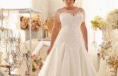 جدیدترین مدل لباس عروس سایز بزرگ