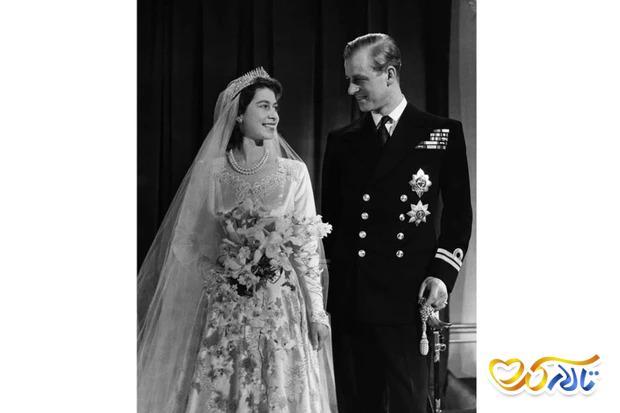 مراسم عروسی ملکه ی انگلستان