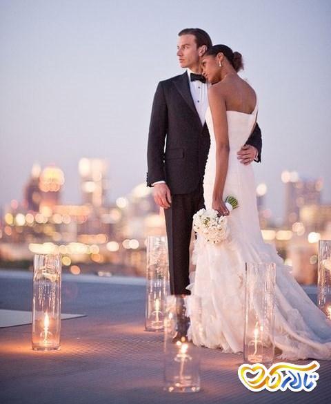 دیزاین روف گاردن جشن عقد عروسی