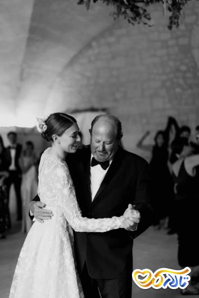 آداب و رسوم عروسی در فرانسه : رقص پدر و دختر