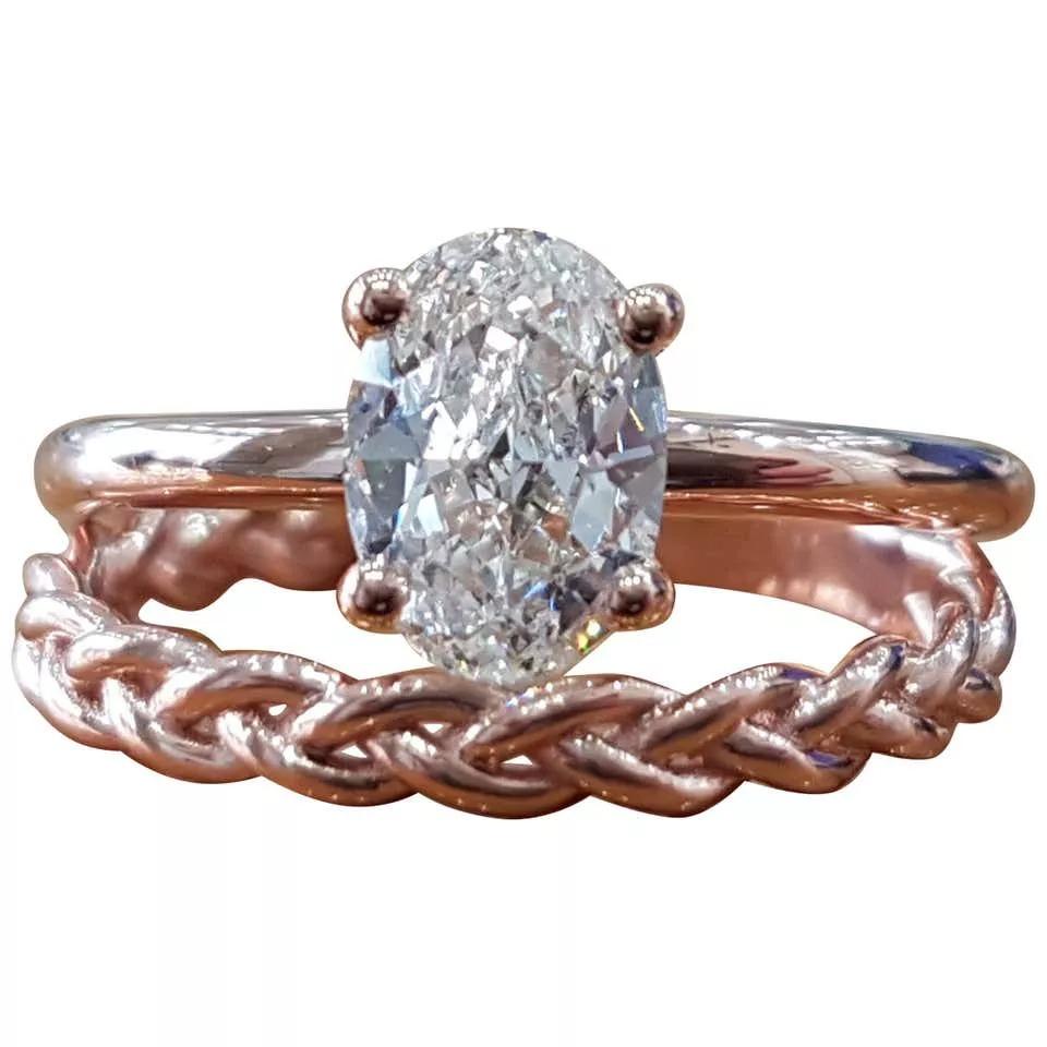 حلقه ی عروسی برلیان