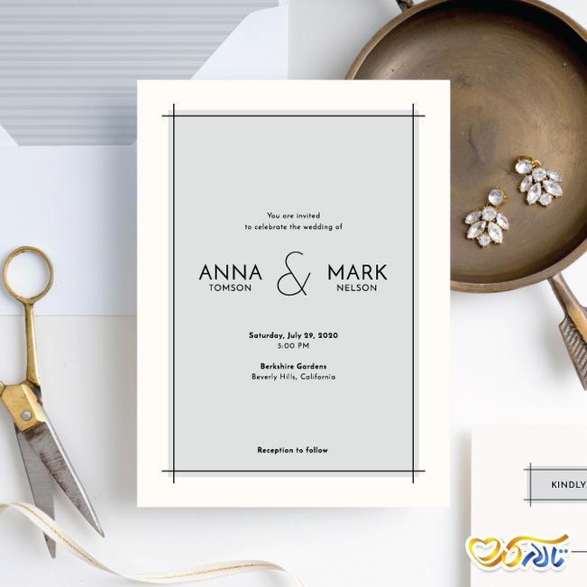 کارت دعوت عروسی آنلاین