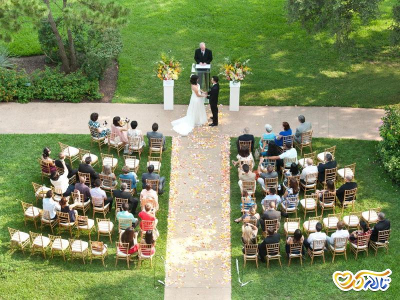 چگونه مراسم عروسی کوچک را موفق برگزار کنیم؟