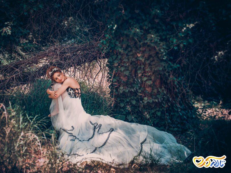 عروس و داماد در عکاسی عروسی