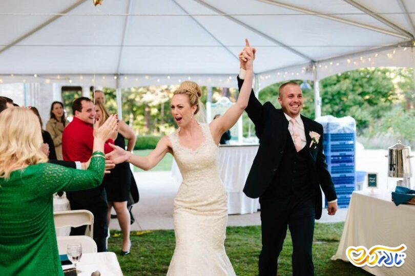 ترفندهای خلاقانه تر کردن عروسی