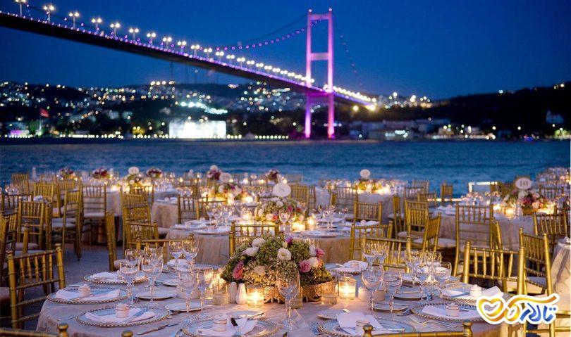 اجرای جشن عروسی در استانبول ترکیه