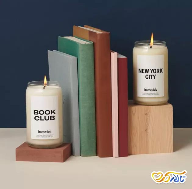 شمع هدیه ولنتاین