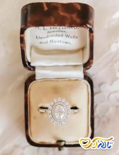 رنگ حلقه الماس برلیان