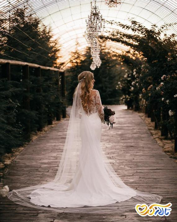 جدیدترین و زیباترین مدل تور عروس