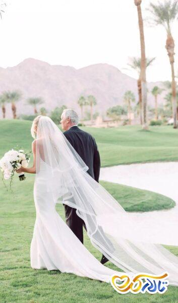 تور عروس زیبا