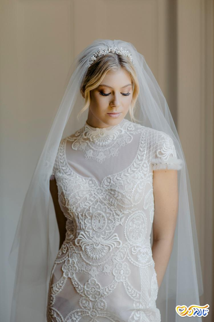 جدیدترین مدل های تور عروس