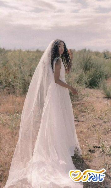 زیباترین مدل های تور عروس