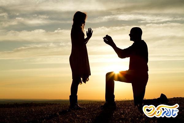 انگشتر نامزدی و حلقه ی عروسی