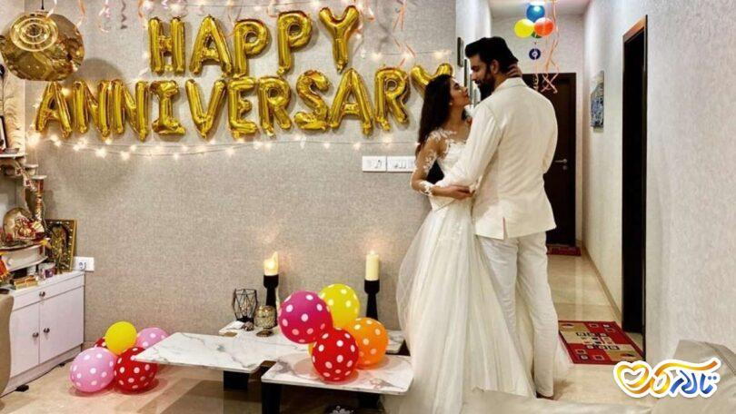 جشن سالگرد ازدواج