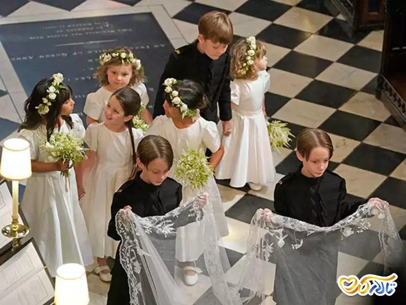 عکاسی کودکان عروسی