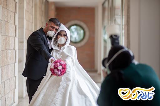 مراسم عروسی در زمان کرونا
