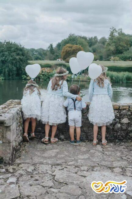 جشن عروسی در روز ولنتاین