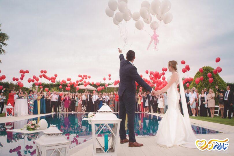 جشن عقد عروسی ولنتاین
