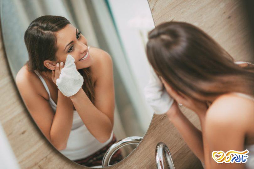 ترفندهای پاک کردن آرایش عروسی