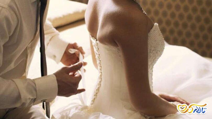 رابطه چنسی شب اول عروسی