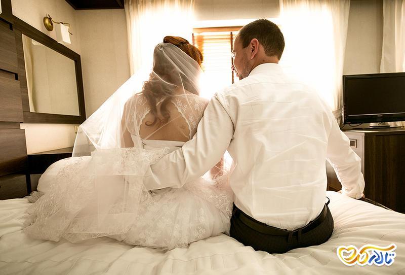 شب زفاف رابطه جنسی