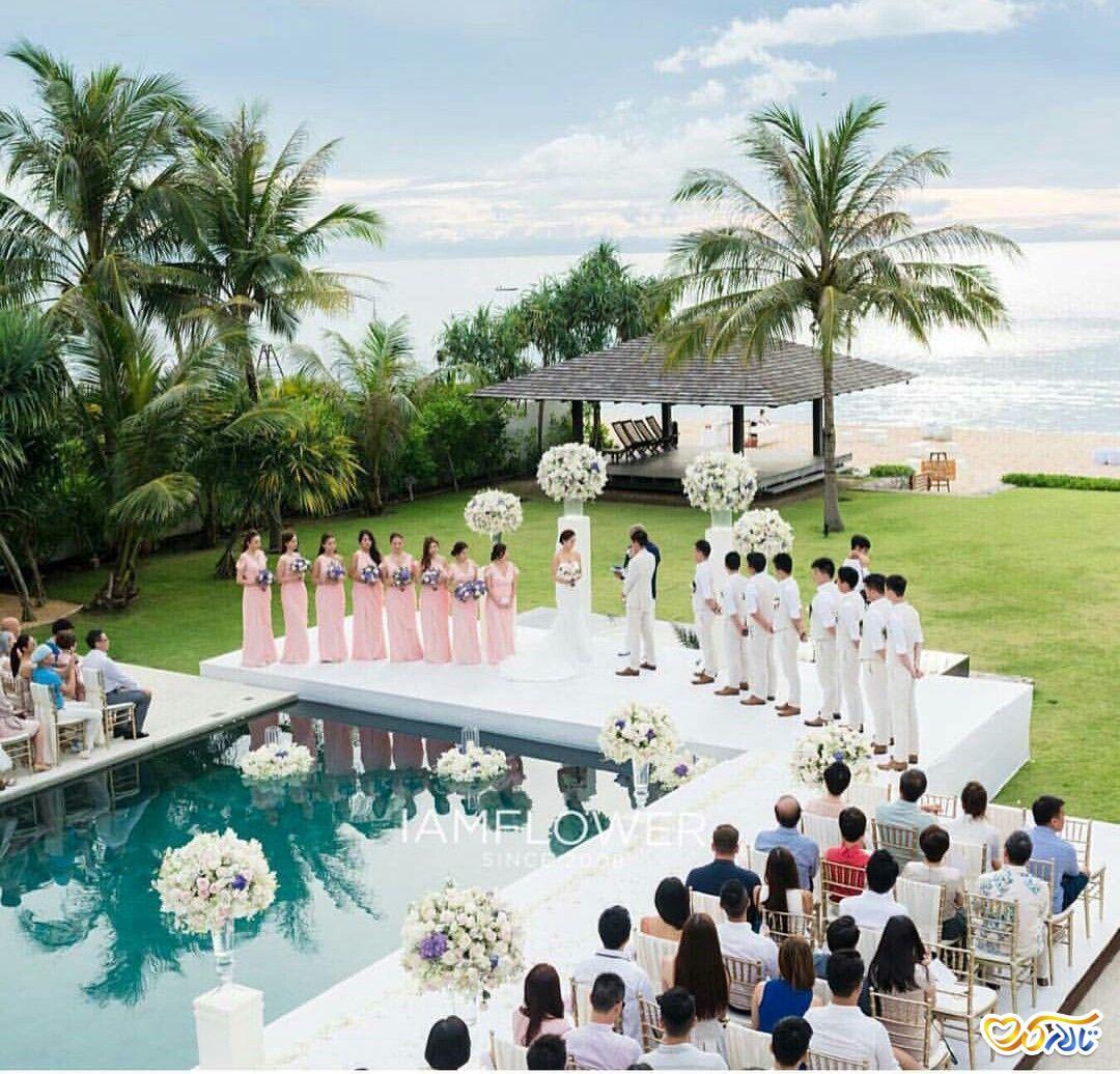 مراسم عقد و تالار عروسی